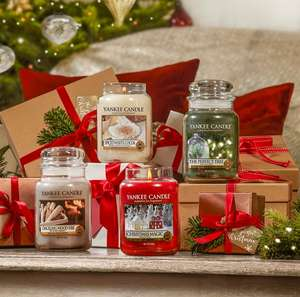 Yankee Candle 50% Off Christmas Range Sale - In Store