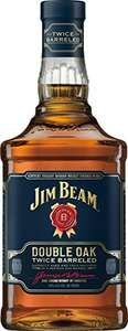 Jim Beam Double Oak Kentucky Straight Whiskey, 70 cl - £16.99 Prime / £21.74 Non Prime @ Amazon