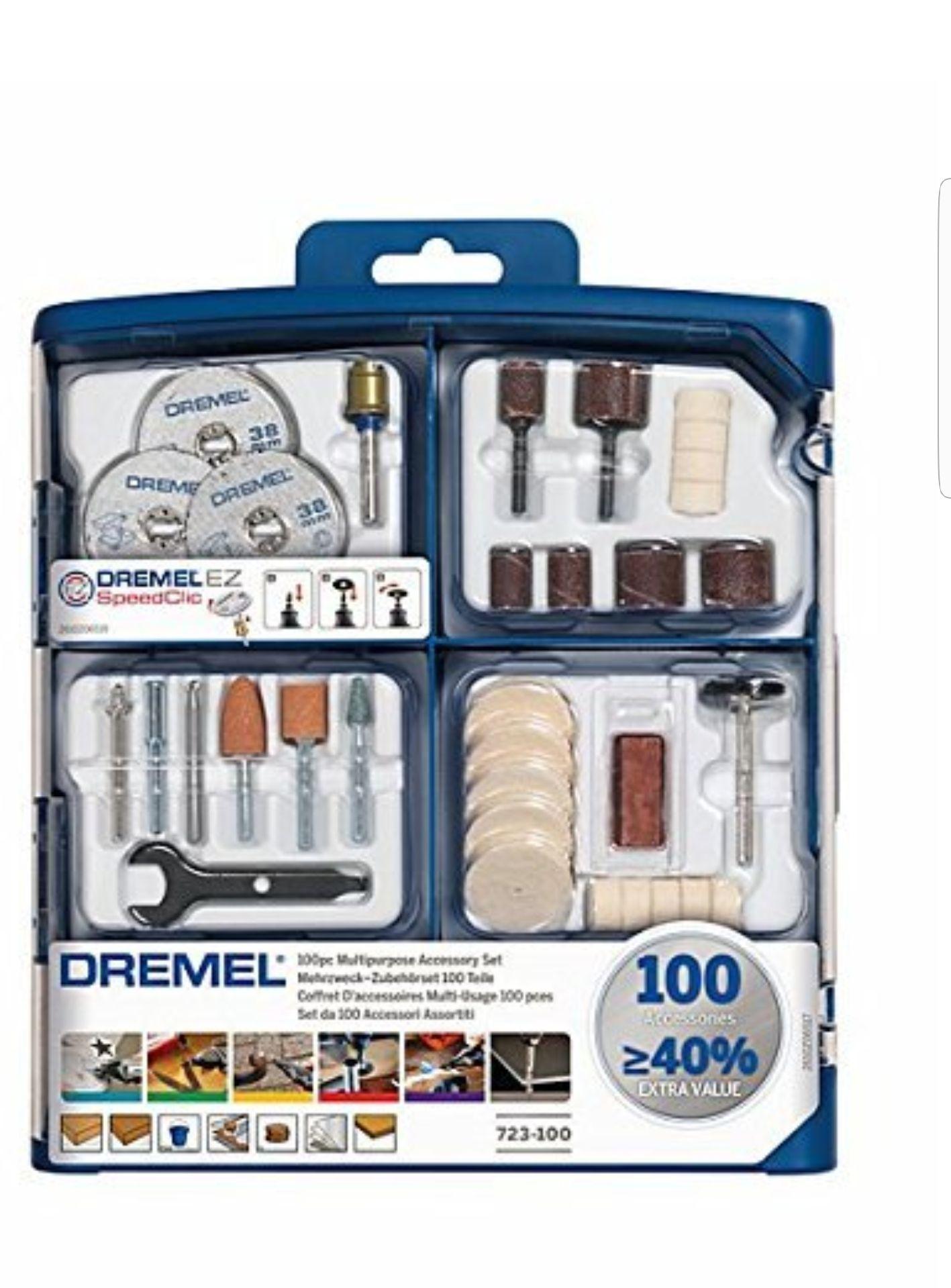 Dremel 723 100 Piece Accessory Set £13.99 (Prime) / £17.98 (non Prime) at Amazon
