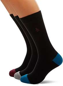 Original Penguin Men's Socks (Pack of 3), £8  (Prime) / £11.99 (non Prime) at Amazon