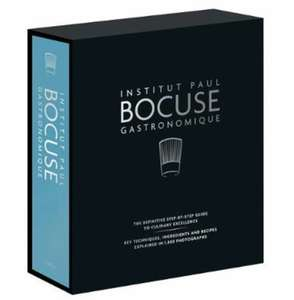 Institut Paul Bocuse Gastronomique: The definitive step-by-step guide to culinary excellence (Hardback) £18 - Amazon