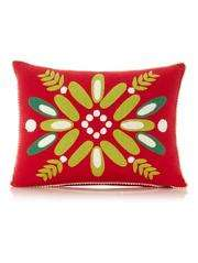 Scandi Mistletoe Cushion reduced to £3  from £6  george