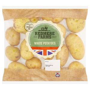 2.5kg White Potatoes - Carrots 1kg - Parsnips 500g - Sprouts 500g  -  Cauliflower - 29p from 13th December @ Tesco