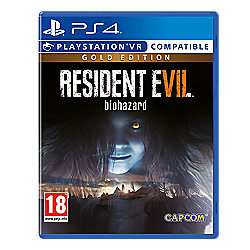 Resident Evil 7 Gold Edition PS4 and XBOXONE £30 at Tesco - Released Today!