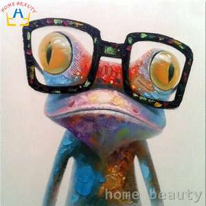 Paint by numbers DIY Frog canvas 40cm x 40cm £5.61 at Aliexpress / HOME BEAUTY Official Store