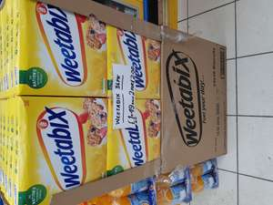 Weetabix 36 pk £1.49 each or 2 for £2.50 in Key Store
