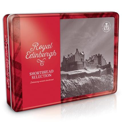500g Royal Edinburgh Shortbread Tin £2.99 @ B&M