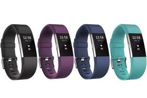 Fitbit Charge 2 Heart Rate & Fitness Tracking Wristband Small / Large £89.99 with Free delivery @ Microsoft Store
