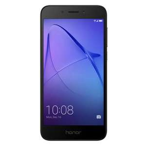 "Honor 6A Dark Grey 5"" 16GB 4G Unlocked & SIM Free - 51091SBK - £99.97 @ laptops direct"