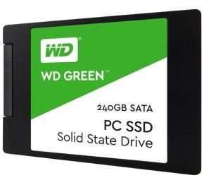 "WD Green 240GB 2.5"" 7mm Solid State Drive, £69.99 from Ebuyer"