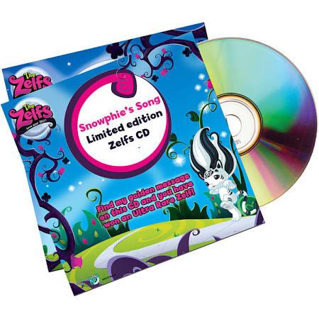 Zelf Snowphie Music CD Was 96p Now 26p Free C&C @ Toysrus