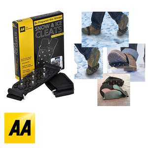 Official AA Snow & Ice Cleats Winter Grippers £2 + Free Delivery @ weeklydeals