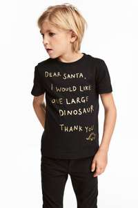 childrens christmas tops £2.99 delivered @ H&M