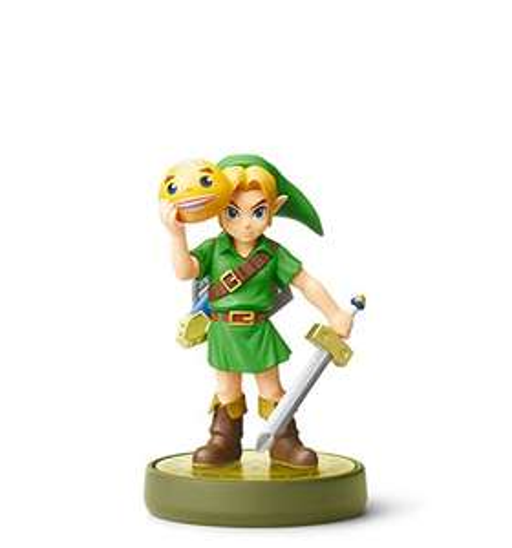 Zelda Majoras Mask Link Amiibo - £10.99 Prime / £12.98 non Prime @ Amazon