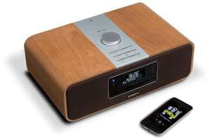 Oldrids Advent Day 12 - Roberts Blutune 200 DAB/FM/CD Bluetooth Cherry Wood Radio reduced from £399 to £229.