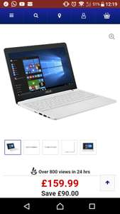 "Asus VivoBook E203 11.6"" (Grey, White, Pink) £159.99 with 1 year Office 365 @ Curry's"