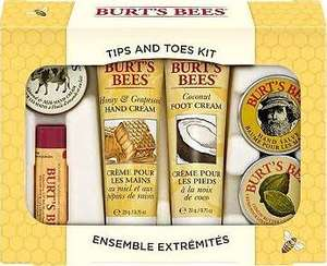 Burt's Bees Tips and Toes Kit @ Amazon £10.89 Prime / £14.88 non Prime