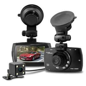 Dashcam with a rear cam cable and camera £24.08 @ Gearbest