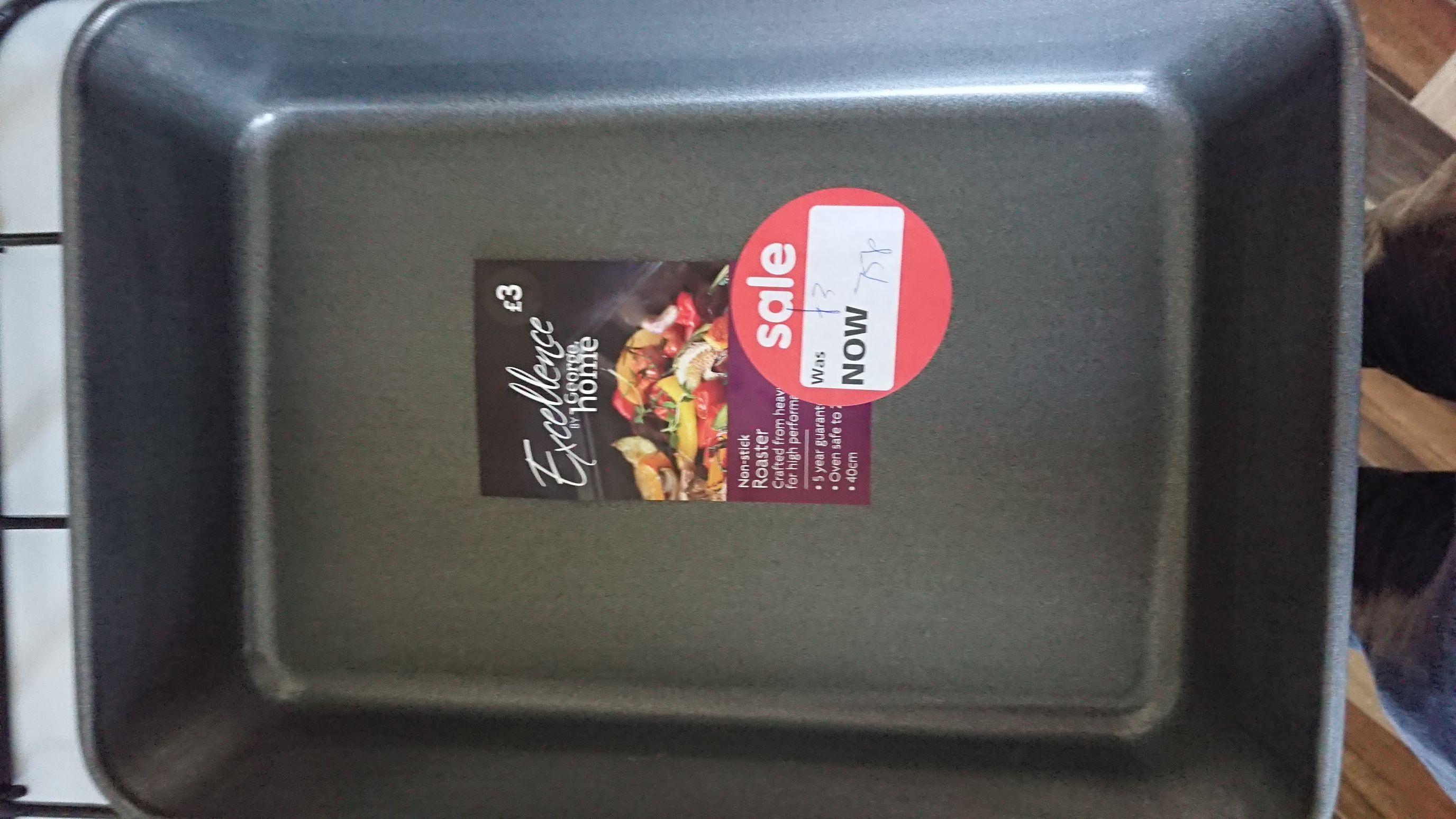 Asda Non-Stick Roaster 75p instore - Bradford Forster Square