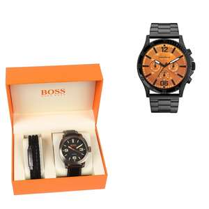 Updated 26th Jan: Caravelle New York 45A108 watch £39 / Boss Orange 1570052 Men's Cape Town Watch / braided leather bracelet Gift Set £69 Delivered / Timex TW2P96900 Watch £34 @ H.S.Johnson (More in OP)