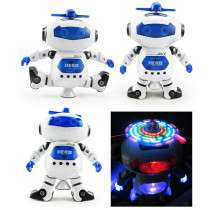 360 Degree Rotation Dancing Music Light Electric Robot Toy £3..74 Delivered @ Gamiss
