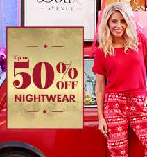 50% off Nightwear at Boux Avenue TODAY ONLY