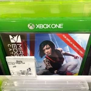 Mirrors edge Xbox one £5 @ Asda instore