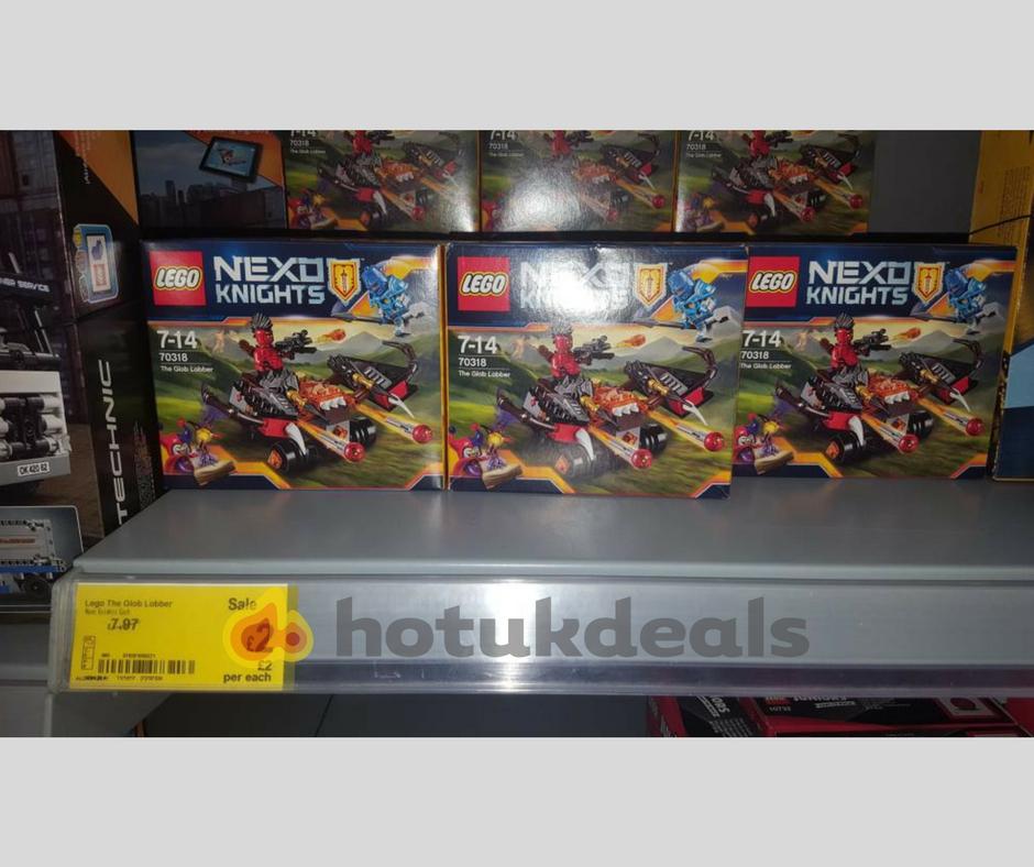 Lego Nexo Knights - £2 instore @ Asda