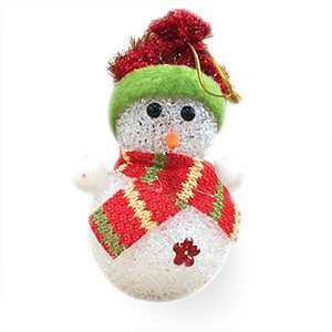 Snowman With Light 99p delivered @ eurocarparts