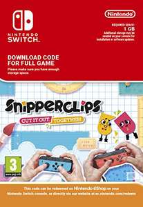 Snipperclips for Nintendo Switch Digital Download - £17.99 @ Nintendo eshop
