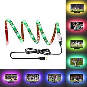 LEBRIGHT USB led strip,39 Inch 5V RGB Multi Color Waterproof Bias Lighting for HDTV  £6.39 Sold by LYD Lighting-EU and Fulfilled by Amazon - Prime Early Access Deal