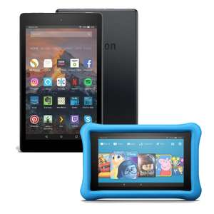 Amazon Fire HD 8 now £49.99 / Fire HD 8 Kids Edition £99.99 / Fire 7 Kids Edition £79.99  @ Amazon UK (+ poss £5 Back when you top up by £50)