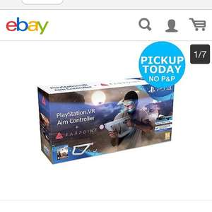PS4 Farpoint VR controller and game bundle in stock £54.99 Argos EBay free click and collect only £54.99