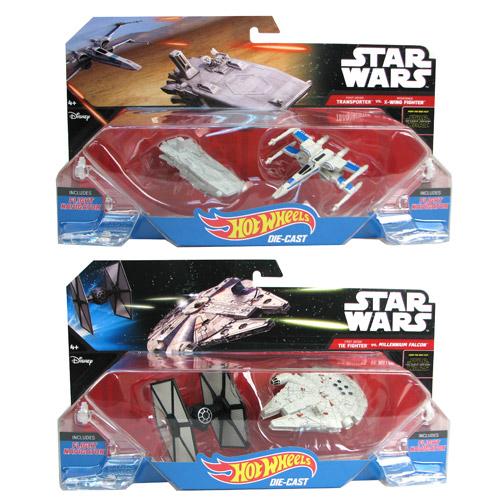 Star Wars Hotwheels 2 pack Die-Cast £2 @ Poundland