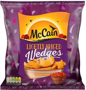 McCain Lightly Spiced Wedges 750G McCain Lightly Spiced Wedges (750g) Half Price was £2.00 now £1.00 @ Tesco