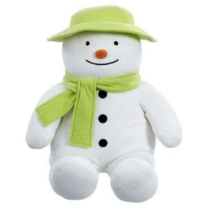"Giant ""Raymond Briggs"" My 1st Snowman (was £30) now £15 C+C @ Tesco Direct"