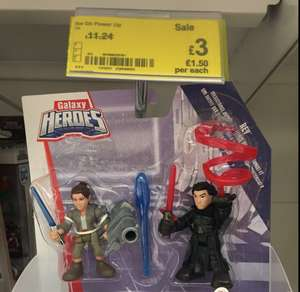 Star Wars Galaxy Heroes Power Up £3 @ Asda - Tamworth