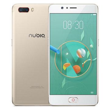 Nubia M2 5.5 inch 4GB+64GB Qualcomm Snapdragon 4G £124.43 - Banggood
