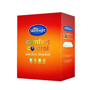 Silentnight Comfort Control Electric Blanket - Double £22 @ Amazon