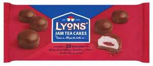 Lyons jam teacakes 3 for £1 @ farmfoods