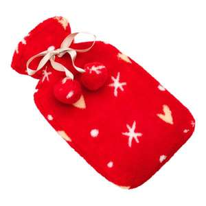 Sweet Snuggles Mini Fleece Hot Water Bottle @ £5 Superdrug