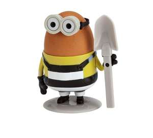 Despicable Me 3 Egg Cup and Shovel Spoon Set £5.99 C+C @ Argos  (Marvel Comics Spider-Man Egg Cup and Toast Cutter £6.99)