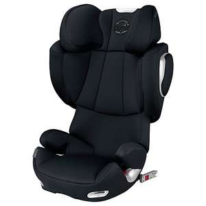 Cybex Solution Q3 Fix Group 2/3 Car Seat, Stardust Black £129.98 John Lewis