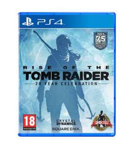 Rise of the Tomb Raider PS4 £15 Asda Instore