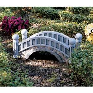 Design Toscano the Halfpence Cobblestone Bridge
