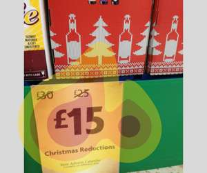 Beer advent calendar now £15 at Morrison's rochdale