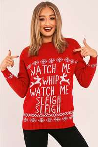Christmas Jumper for Christmas Jumper Day this Friday £5.99 @ In Style