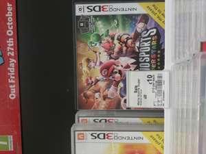 Mario Sports Superstars -3DS £10 instore @ Asda