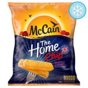 McCain Extra Chunky Home Chips 1Kg £1.50 @ Tesco