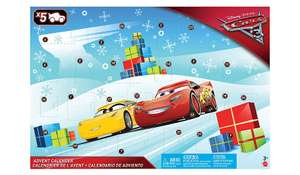 Cars advent calendar 4.97 in Asdas in store
